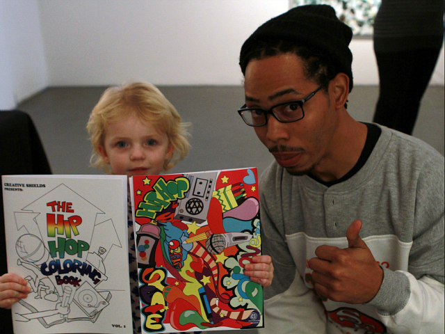 Hip Hop Coloring Book Hbcu Buzz Inc