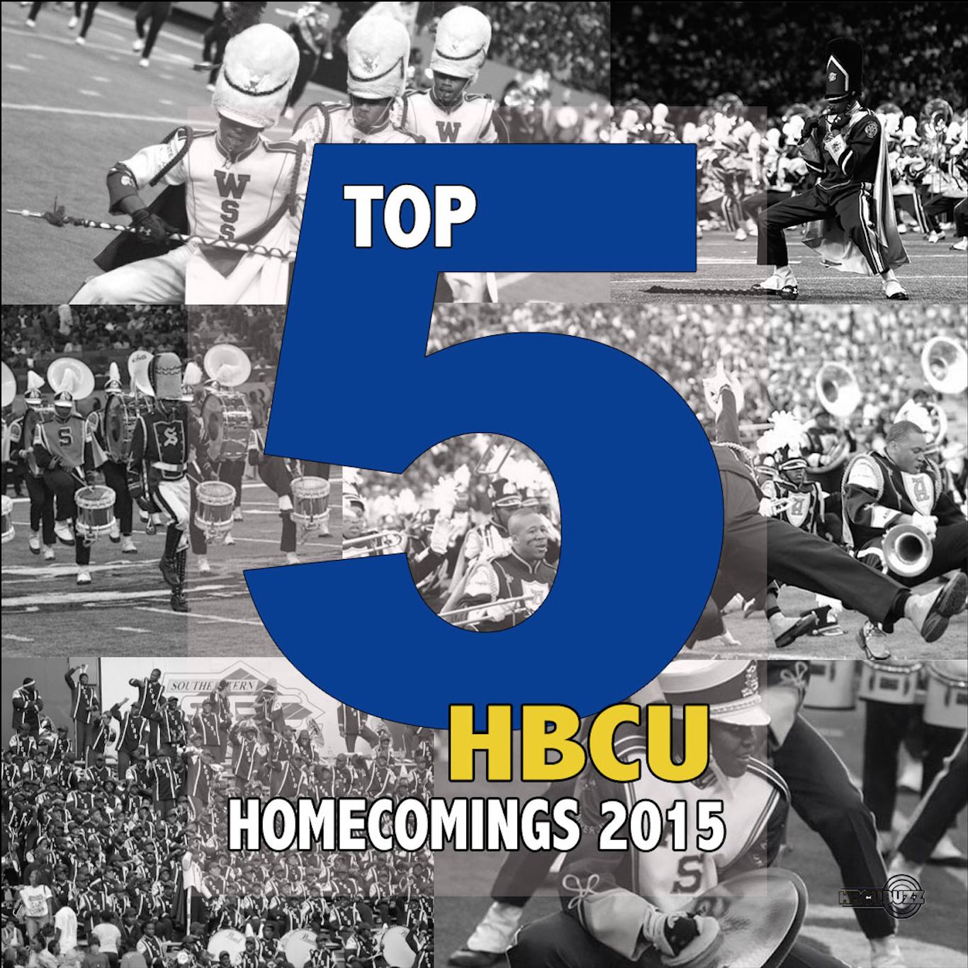 Top 5 HBCU Homecomings 2015