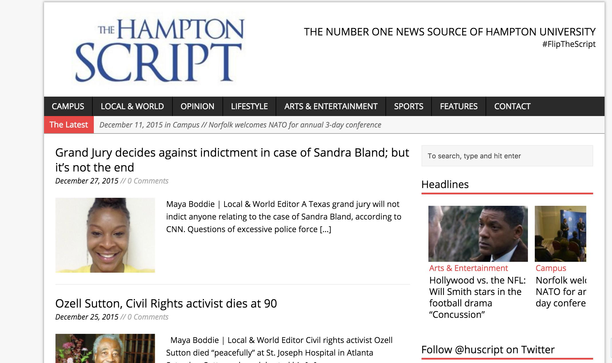 Hampton Script