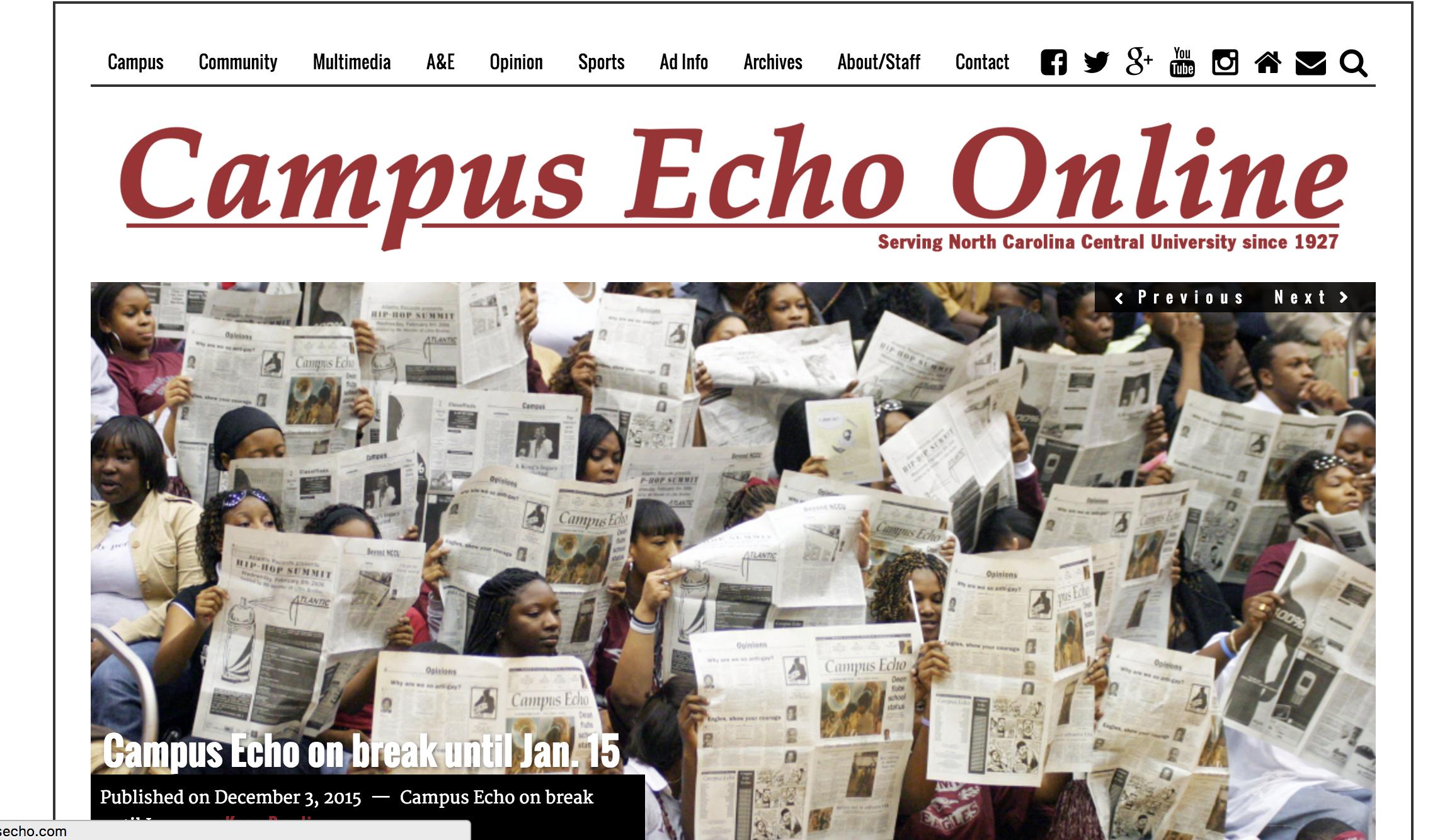 The Campus Echo