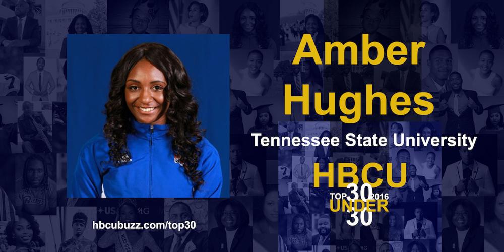 Amber Hughes HBCU Top 30 Under 30 2016