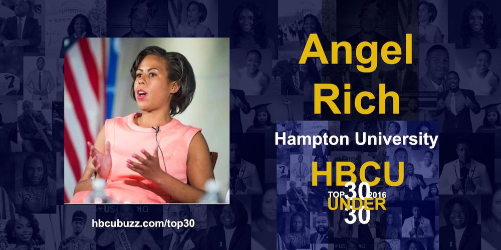 Angel Rich HBCU Top 30 Under 30 2016