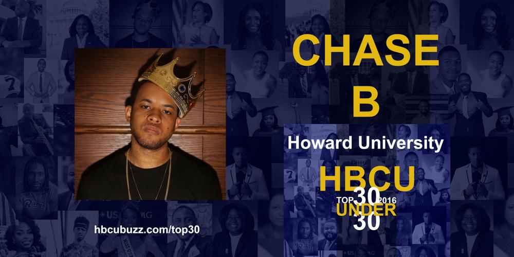Chase B HBCU Top 30 Under 30 2016