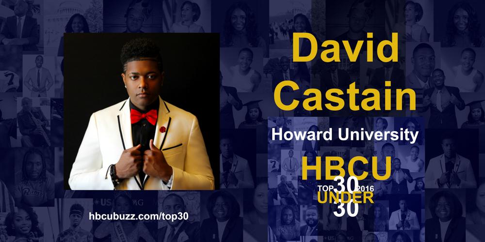 David Castain HBCU Top 30 Under 30 2016