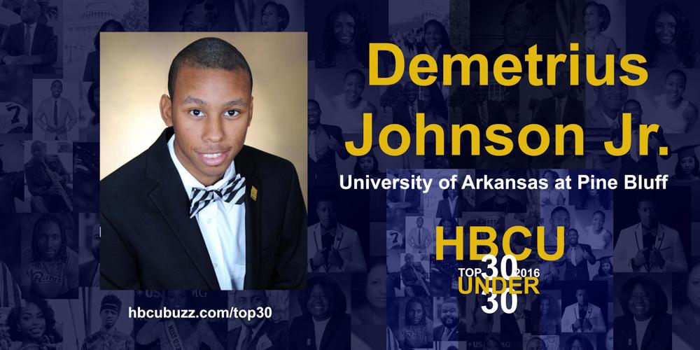 Demetrius Johnson Jr. HBCU Top 30 Under 30 2016