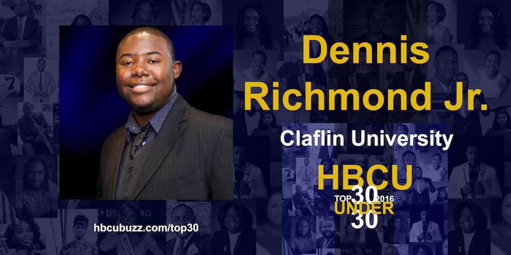 Dennis Richmond Jr. HBCU Top 30 Under 30 2016