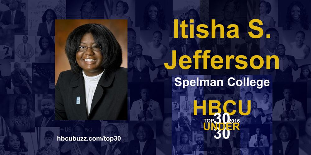 Itisha S. Jefferson HBCU Top 30 Under 30 2016