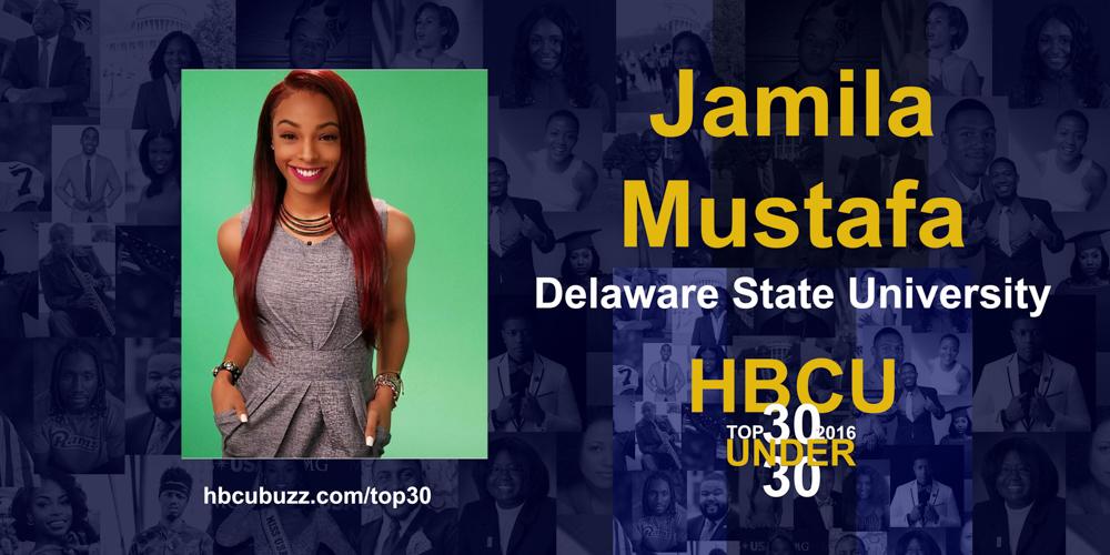 Jamila Mustafa HBCU Top 30 Under 30 2016