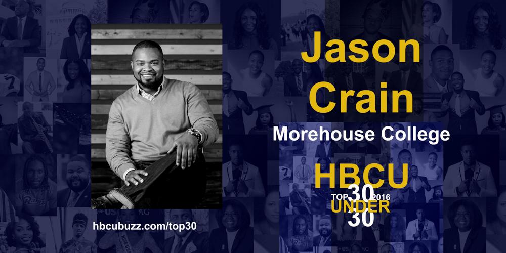 Jason Crain HBCU Top 30 Under 30 2016
