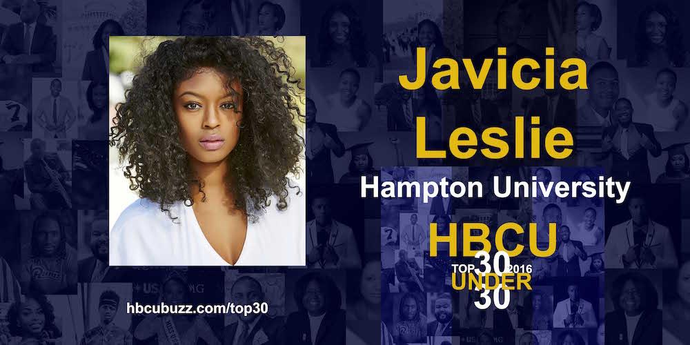 Javicia Leslie HBCU Top 30 Under 30