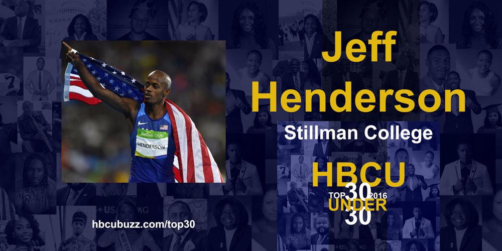Jeff Henderson HBCU Top 30 Under 30 2016
