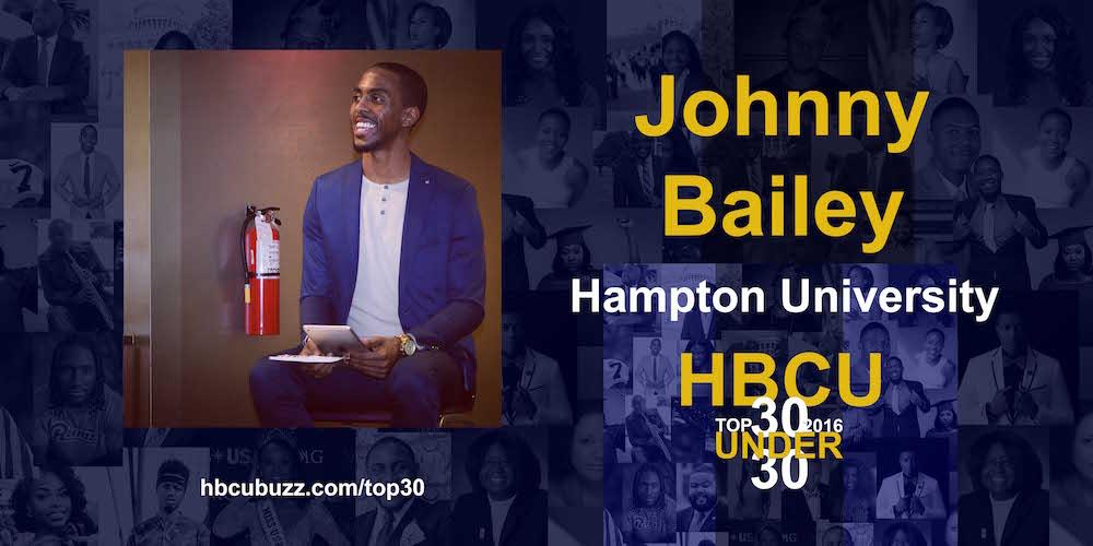 Johnny Bailey IV HBCU Top 30 Under 30