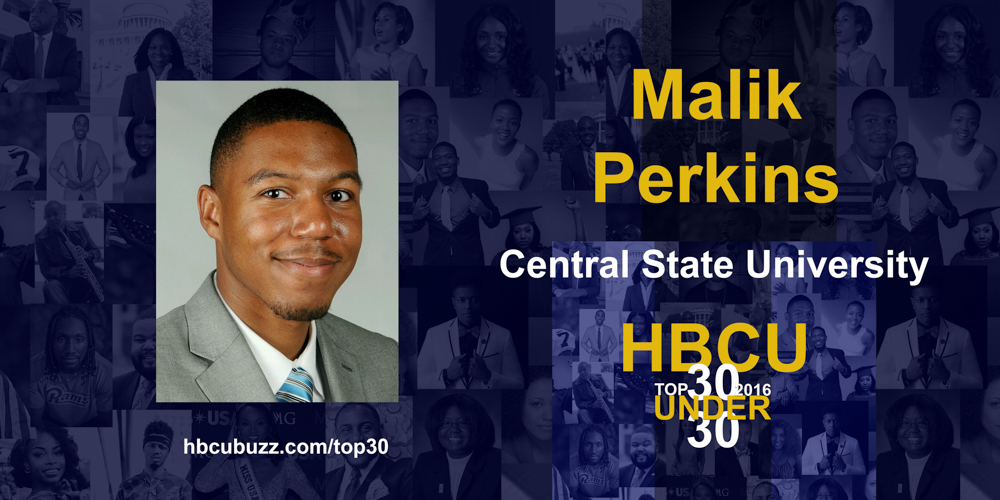 Malik Perkins HBCU Top 30 Under 30 2016