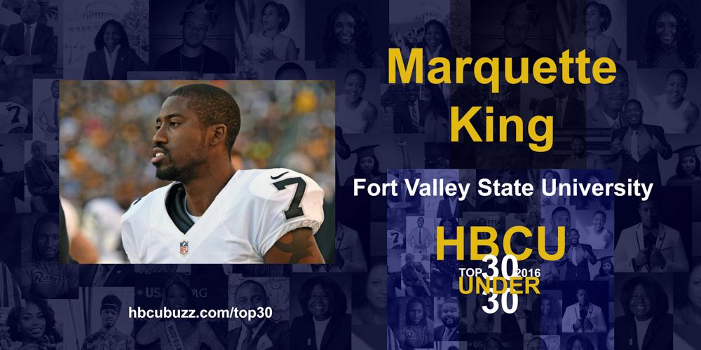 Marquette King HBCU Top 30 Under 30 2016