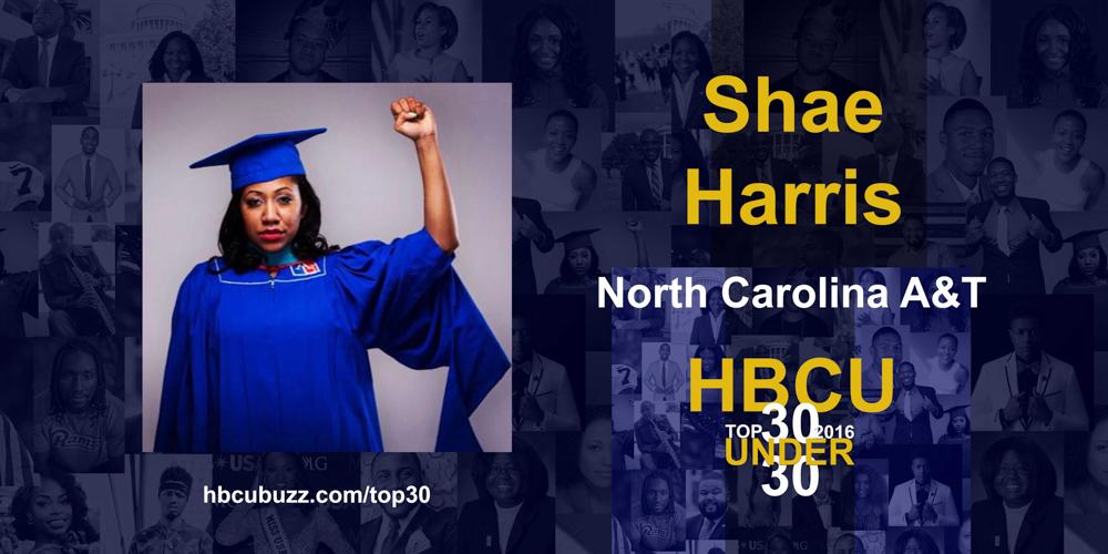 Shae Harris HBCU Top 30 Under 30 2016