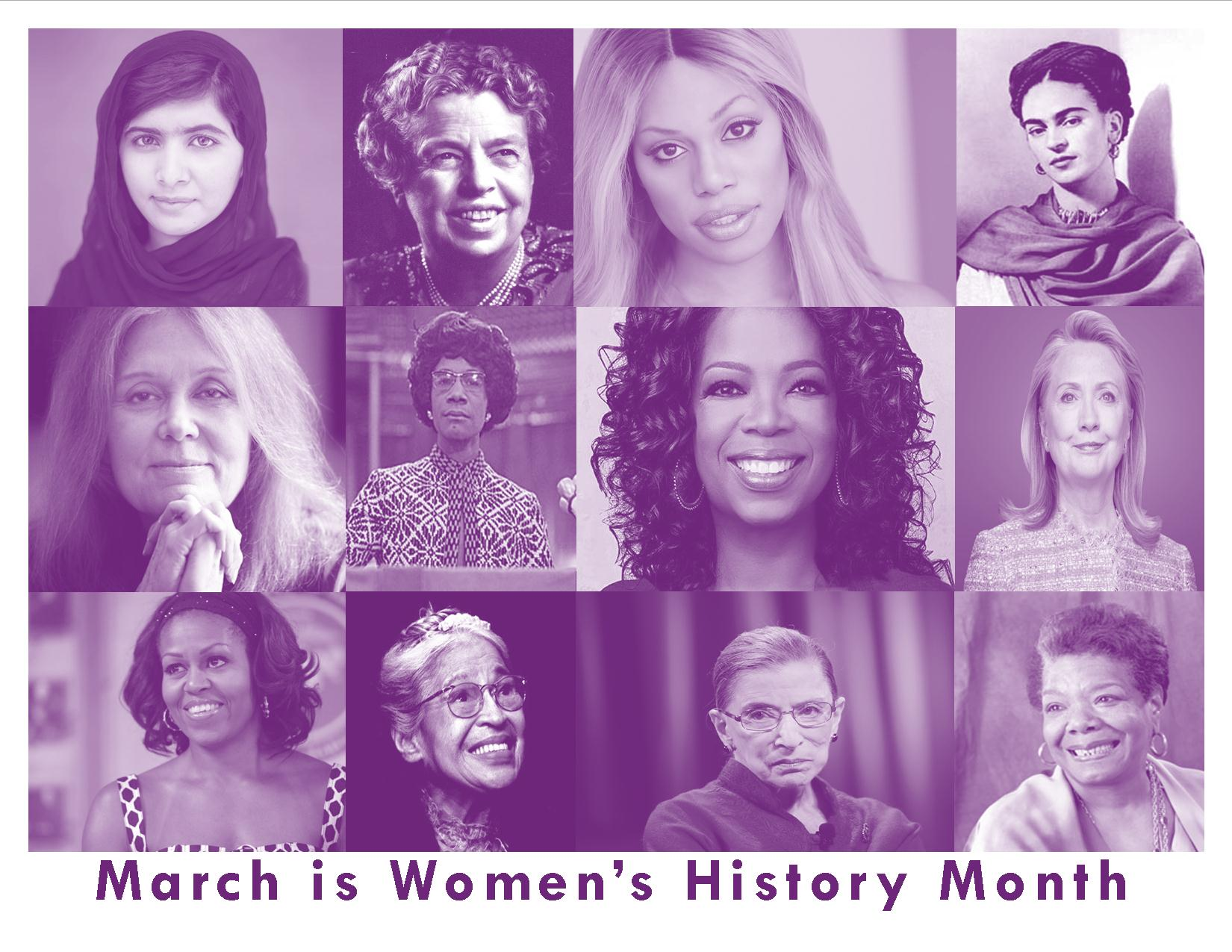 women in history Watch video  women's history month: women of color whose names you should know these leaders had to break both gender and racial barriers as they made history.