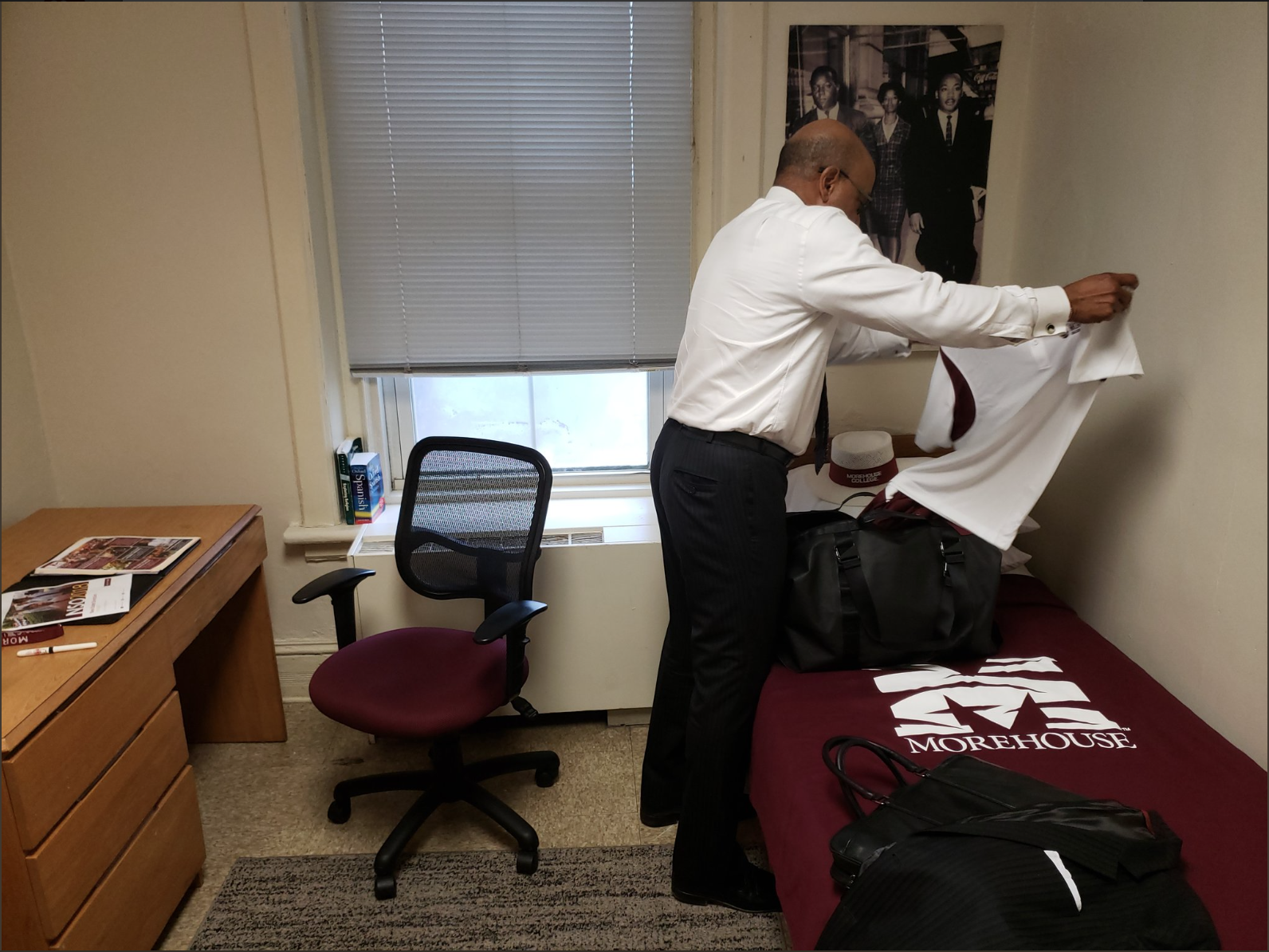 New Morehouse President Moves Into The Colleges Dorms For His